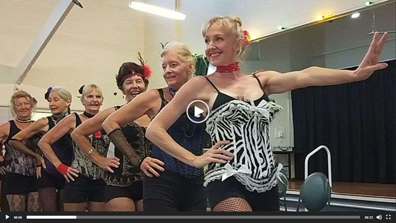 Christmas Showcase 2019 Burlesque Dancers