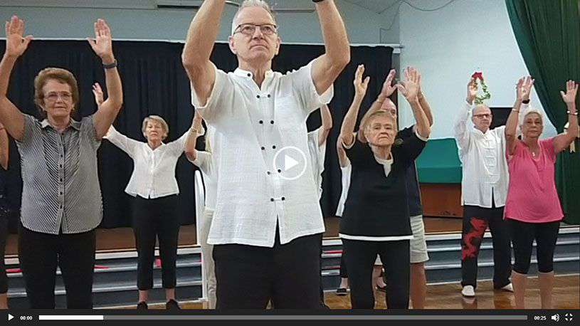 Christmas Showcase 2019 Tai Chi Group