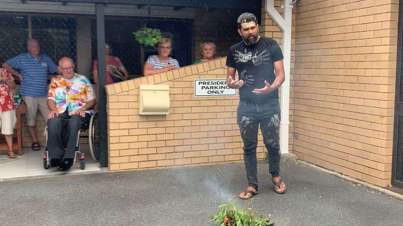 Indigenous Smoking Ceremony AGM December 2020